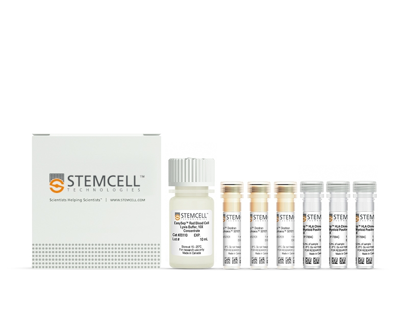 EasySep™ HLA Chimerism Whole Blood Myeloid Positive Selection Kit