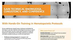 2018-2019 Hematopoietic Training Catalog