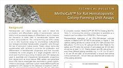 MethoCult™ for Rat Hematopoietic Colony-Forming Unit (CFU) Assays