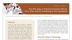 The CFU Assay in Preclinical Toxicity Testing: An In Vitro Tool for Predicting In Vivo Cytopenia