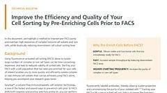 Pre-Enrichment of Innate Lymphoid Cells Prior to Sorting Improves Efficiency