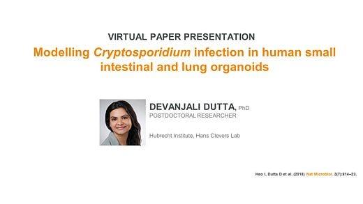 Modeling Host-Microbe Interactions Using Human Intestinal Organoids