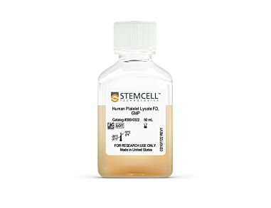 Product image for Human Platelet Lysate, Fibrinogen-Depleted, GMP, 50 mL|200-0322