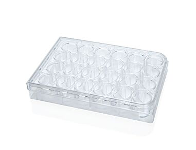 Costar® 24-Well Flat-Bottom Plate, Tissue Culture-Treated