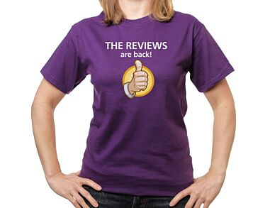 The Reviews are Back T-shirt