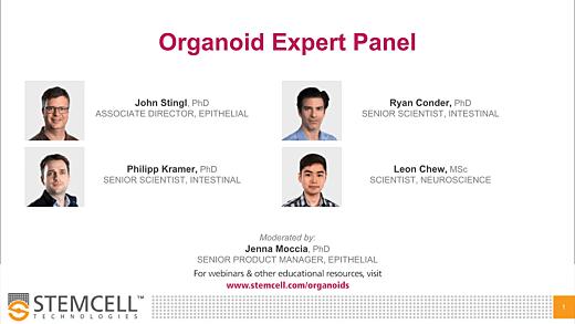 Organoid Expert Panel