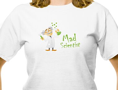 Mad scientist T-shirt