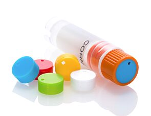 Cryogenic Vial Cap Inserts, Assorted Colors|38081
