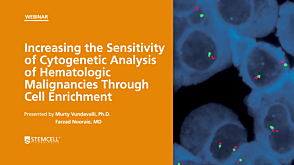 Increasing the Sensitivity of Cytogenetic Analysis of Hematologic Malignancies Through Cell Enrichment