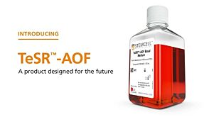 TeSR™-AOF: Designing a Product for the Future