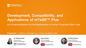 Development, Compatibility, and Applications of mTeSR™ Plus; an Enhanced Medium for the Maintenance of Human Pluripotent Stem Cells (hPSCs)
