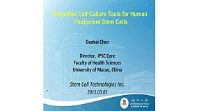 Development of Simplified and Defined Cell Culture for Human Pluripotent Stem Cells