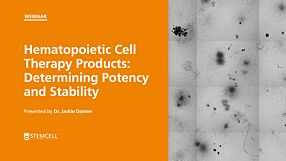 Hematopoietic Cell Therapy Products: Determining Potency and Stability