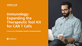 Online Immunology Journal Club: Expanding the Therapeutic Tool Kit for CAR T Cells