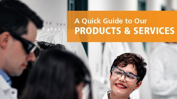 A Quick Guide to Our Products & Services