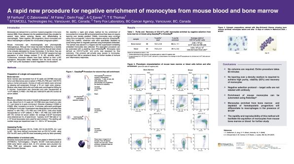 Procedure for Negative Enrichment of Monocytes from Mouse Blood and Bone Marrow