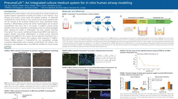 PneumaCult™: an Integrated Culture Medium System for in Vitro Human Airway Modeling