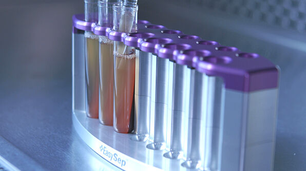 Cell Isolation Directly from Whole Blood without RBC Lysis or Centrifugation: EasySep™ Direct