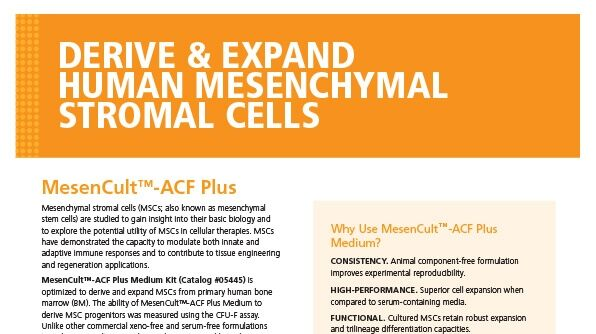 MesenCult™-ACF Plus