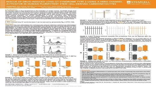 Rescue of Drug-Induced Long QT Syndrome Type 2 Using a hERG Channel Activator in Human Pluripotent Stem Cell-Derived Cardiomyocytes