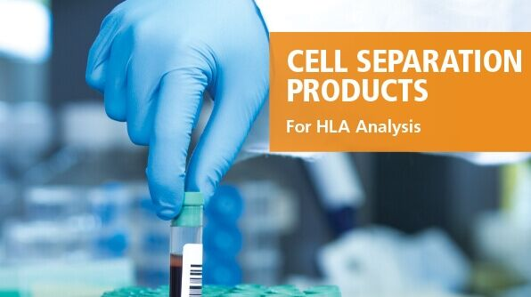 Cell Separation Products for HLA Analysis