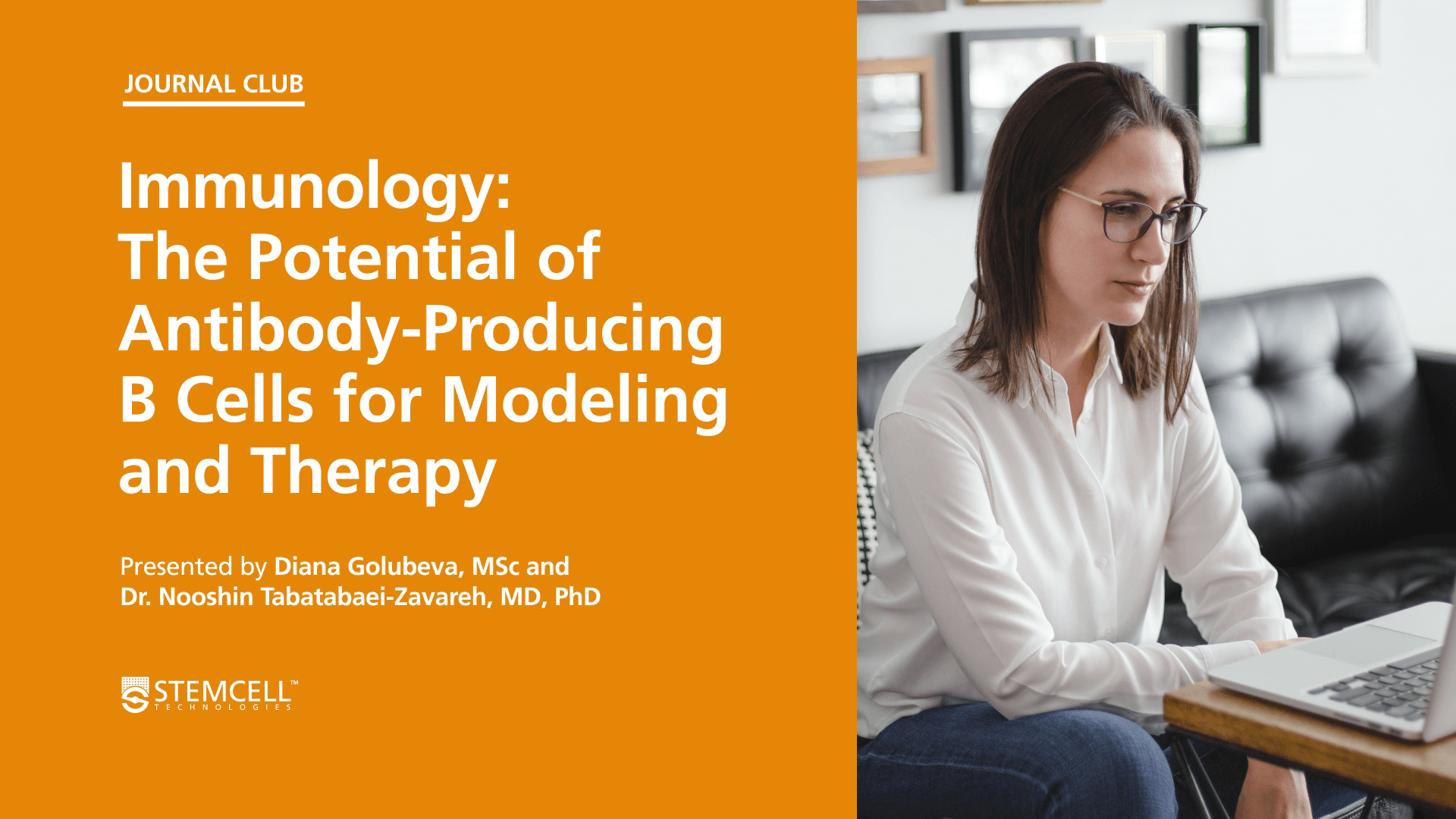 Online Immunology Journal Club: The Potential of Antibody-Producing B Cells for Modelling and Therapy