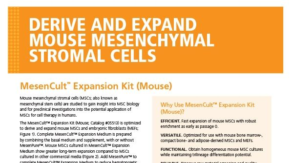 MesenCult Expansion Kit (Mouse)