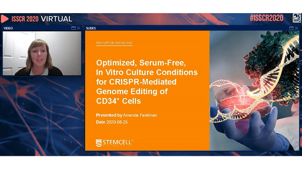 ISSCR Innovation Showcase: Optimized, Serum-Free, In Vitro Culture Conditions for CRISPR-Mediated Genome Editing of CD34+ Cells