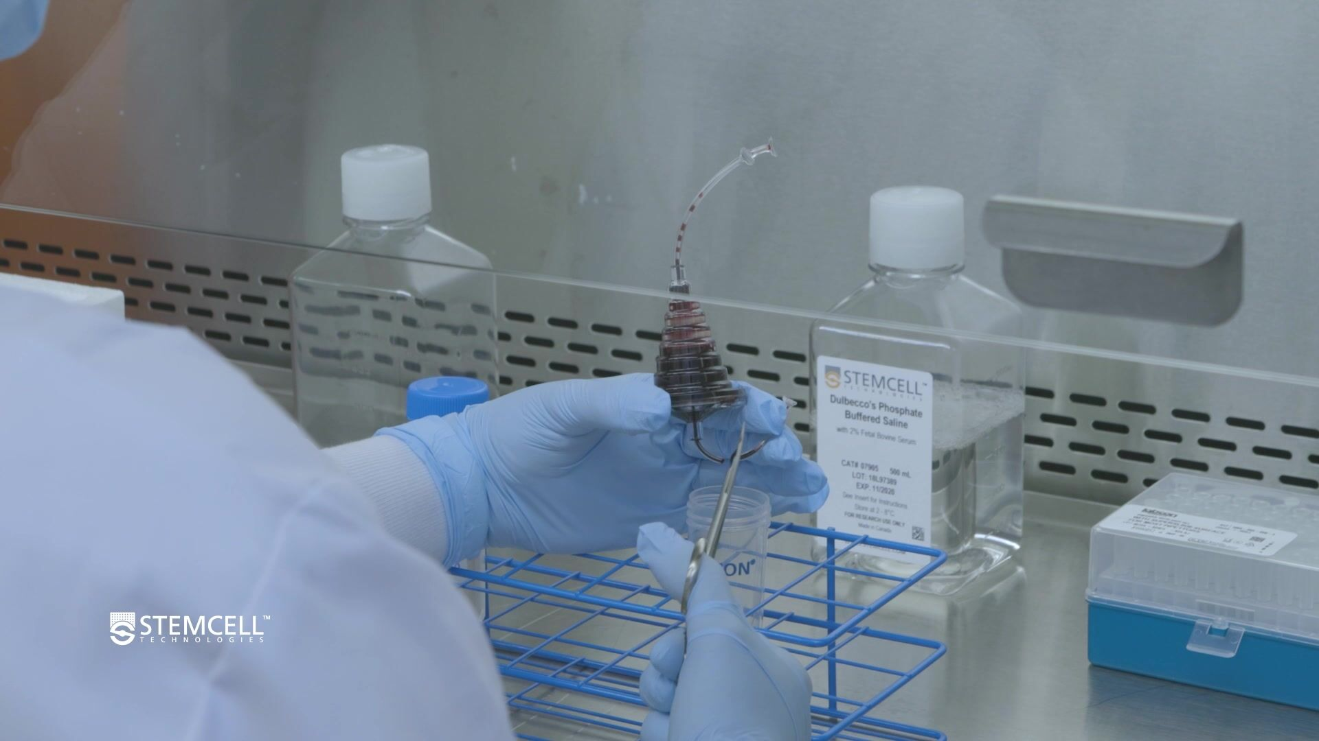 How to Recover Cells from a Leukocyte Reduction System (LRS) Cone