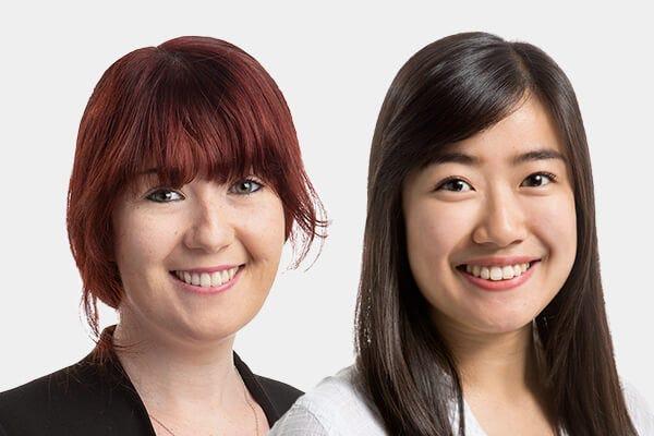 Image of ASGCT 2021 speakers Selena Hallahan and Crystal Chau
