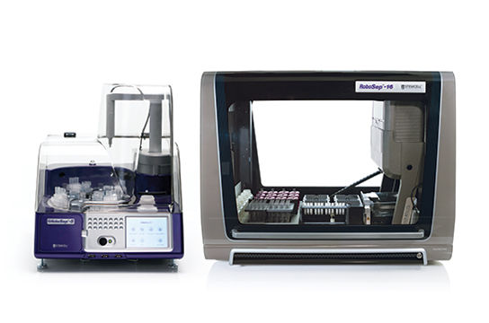 Fully automated magnetic cell separation using RoboSep™-S and RoboSep™-16