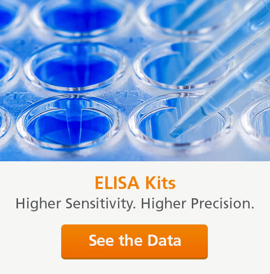 ELISA Kits: Higher sensitivity. Higher precision. See the Data.